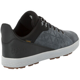Jack Wolfskin Auckland Texapore Low Shoes Men ebony/black